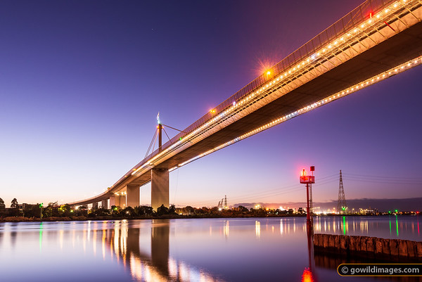 The Golden Westgate Bridge