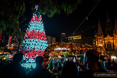 Fed Square Christmas