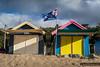 Dromana Beach huts