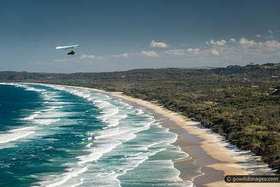 Byron Bay hang gliding