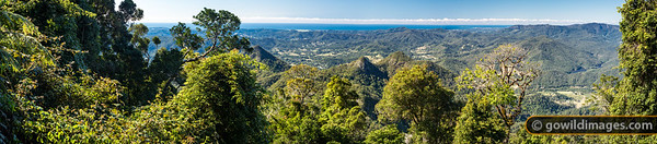Mount Warning panorama