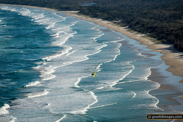 Byron Bay hang gliding