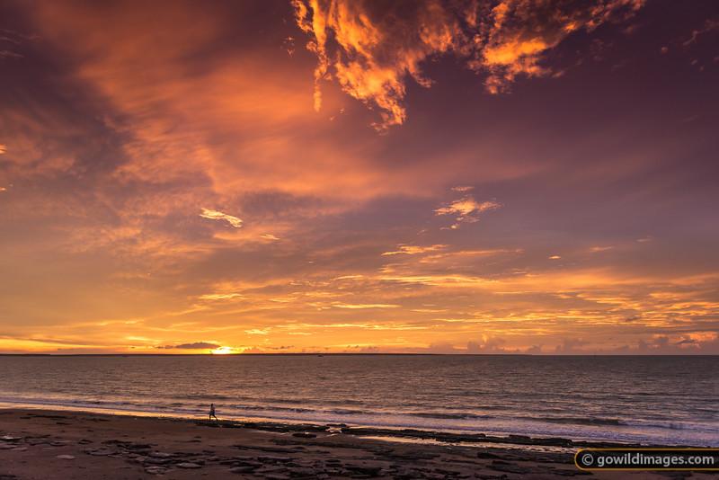 Sunset at Vesteys Beach, Darwin, NT