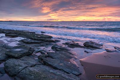 Sunset at the rockpools, Vesteys Beach, Darwin, NT