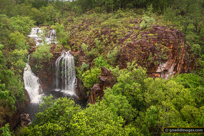Florance falls at the beginning of the wet season. Litchfield NP, NT.