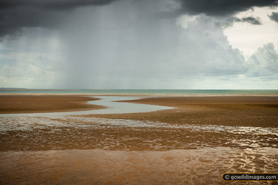 Wet season storm, Mindil Beach, Darwin, NT