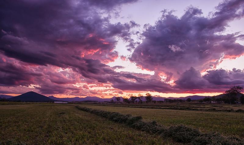 Scenic Sunset Over the Scenic Rim