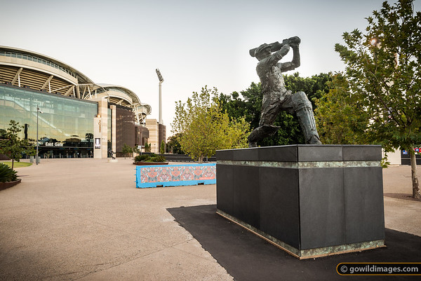 Donald Bradman Statue & Grounds