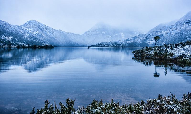 Silent Sunrise in the Snow