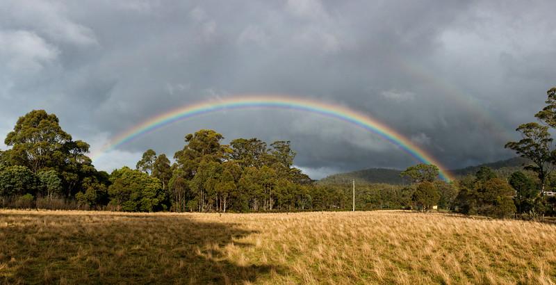 Double Rainbow Trying Its Hardest