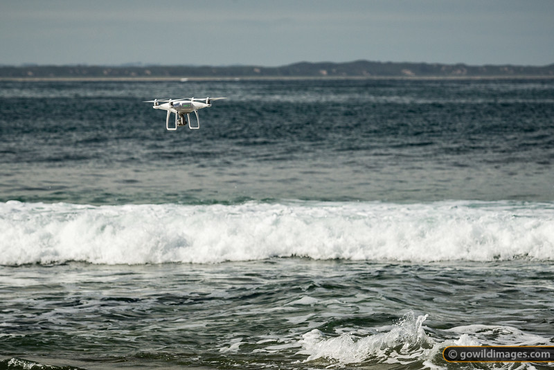 Drones on the Beach