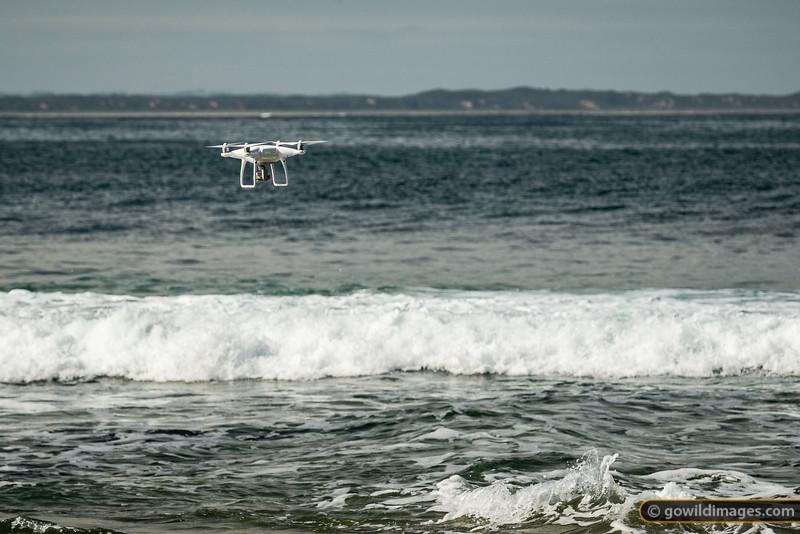Drones on the Beach