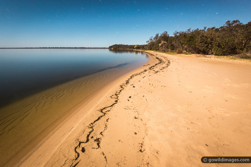 Point Wilson, The Lakes NP. A long exposure under a full moon on a calm night... very peaceful!