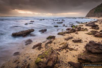 Wreck beach, Moonlight Head, Great Otway NP