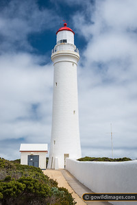 The picturesque Cape Nelson lighthouse, near Portland