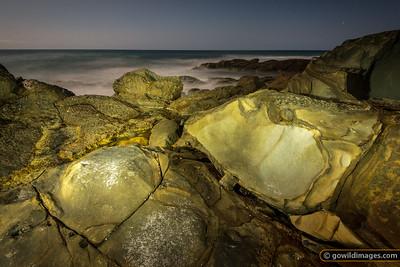Blanket Bay at Night