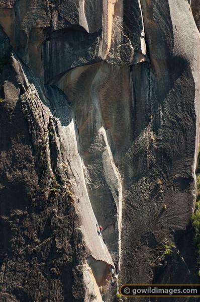Rock climbers near The Gorge, Mt Buffalo