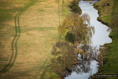 Autumn scene along the Buchan River