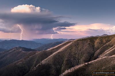 Alpine Peak Storm