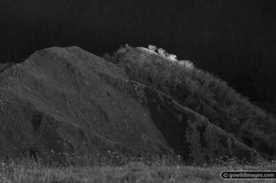 Mt Feathertop east ridge (B&W). A tribute to the late Ansel Adams and Galen Rowell.