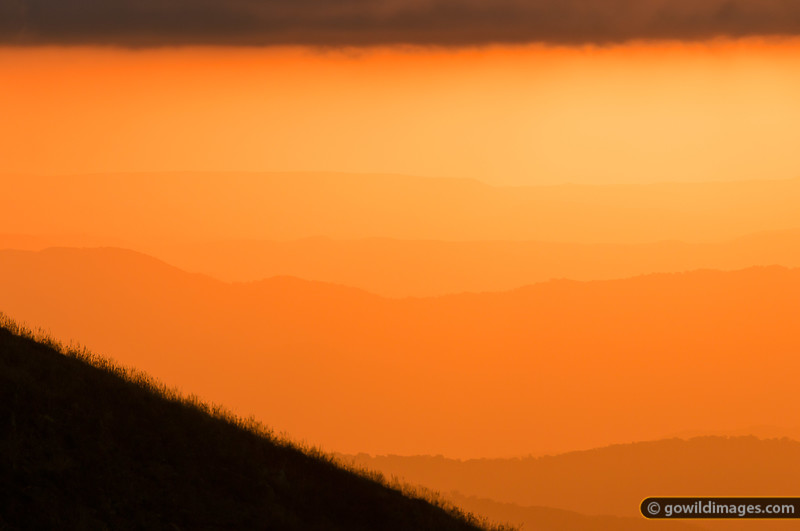 From Mt Feathertop at sunset