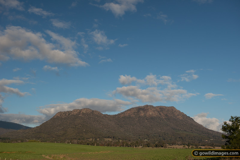 'The Cathedral' of Cathedral Ranges