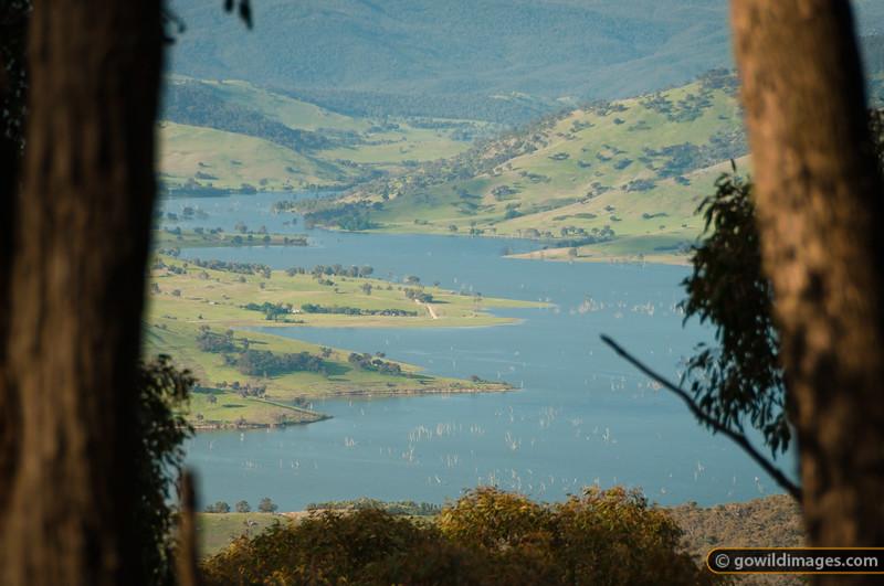 View of Murray River from Lyrebird walk, Mt Granya