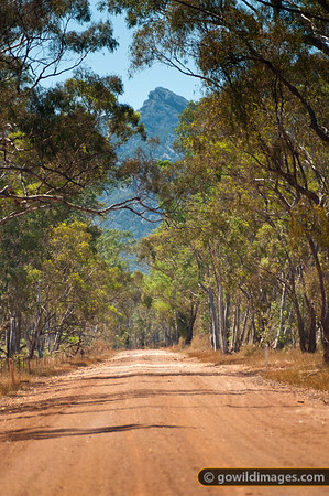 Red Rock road, Central Grampians