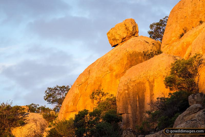 Granite boulders, Mt Hope