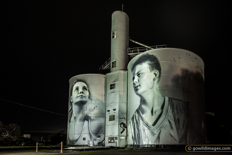 Rupanyup Silos by Night