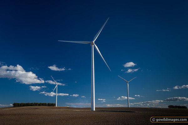Wind farm near Waubra