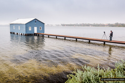 The Blue Boatshed