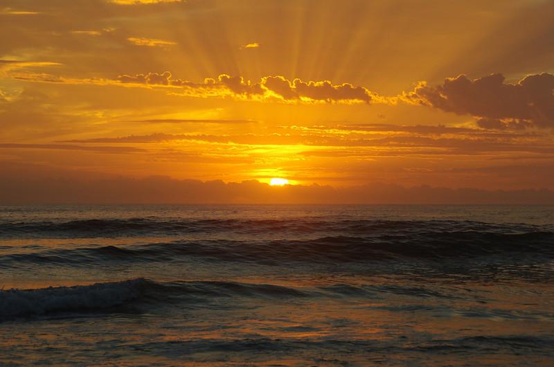 Sunrise Fraser Island