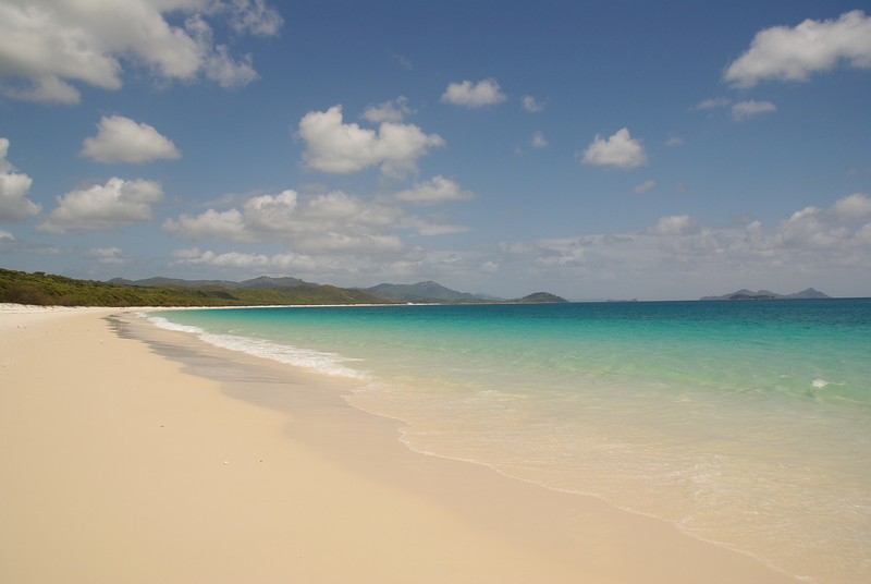 Whitehaven Beach, Whitsundays - whitest sand (beach) in the world
