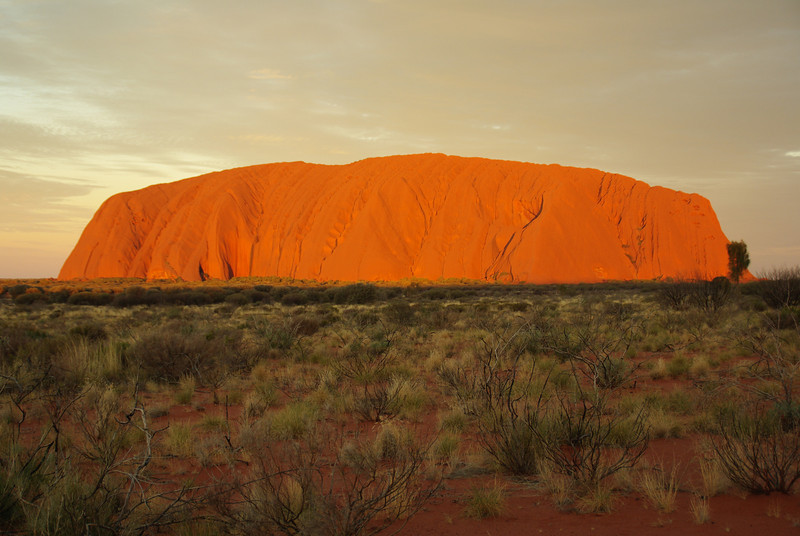 Uluru, The red Centre