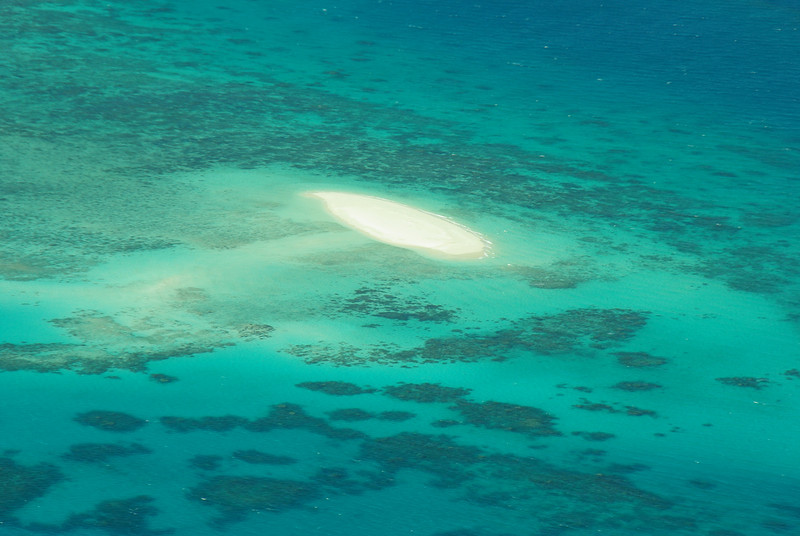 Great Barrier Reef has an unique colour with lots of islands to play on