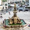 Residenzplatz - Salzburg Cathedral Water Foutain - 26 Jul 2016