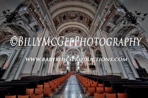 Salzburg Cathedral - Salzburg Austria - 26 Jul 2016