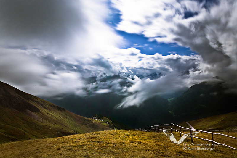 Hohe Tauern national park. See the moving clouds!