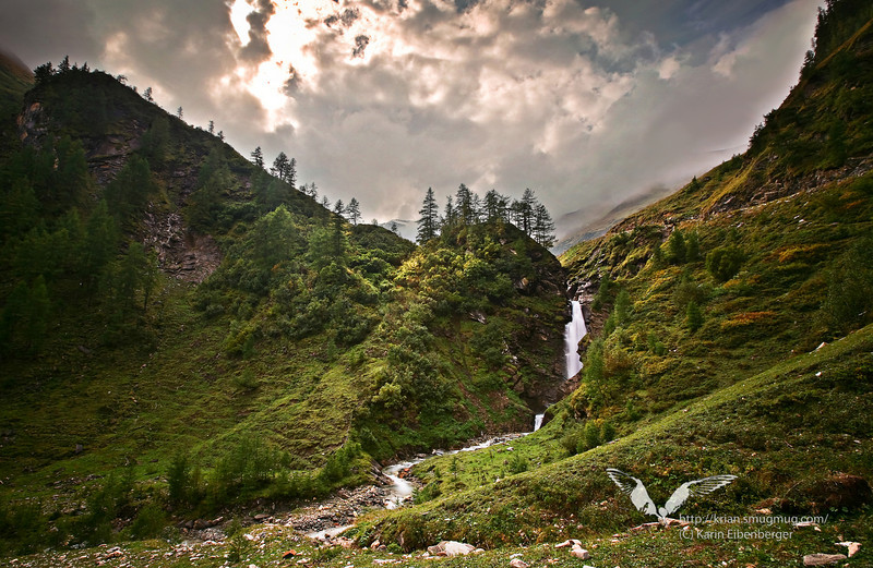 North of the Krumltal, Hohe Tauern national park.