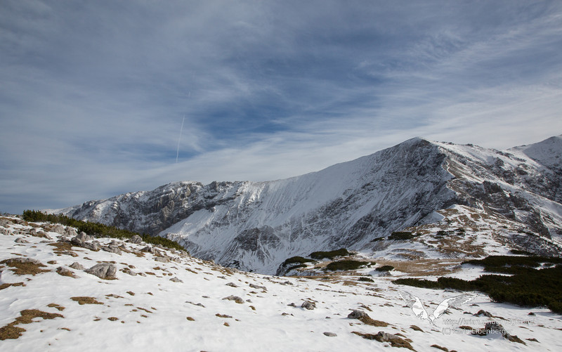 November 3rd 2012. Snowshoeing on Hutterer Höss.