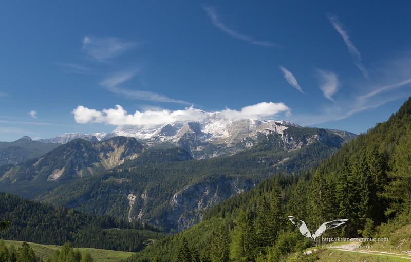 September 2012. Hiking the 'Dreihuettentour'.