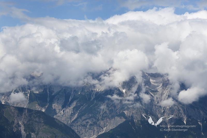 2012. Karwendel, seen from the opposite side of the Inntal.