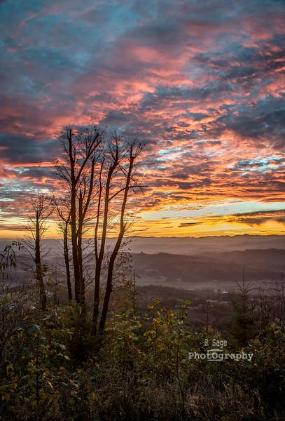 bald peak sunset-4527