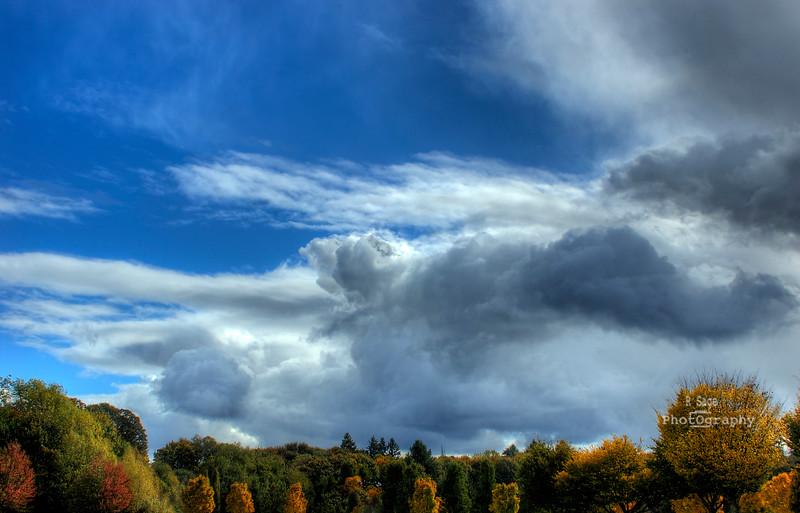 fall skys