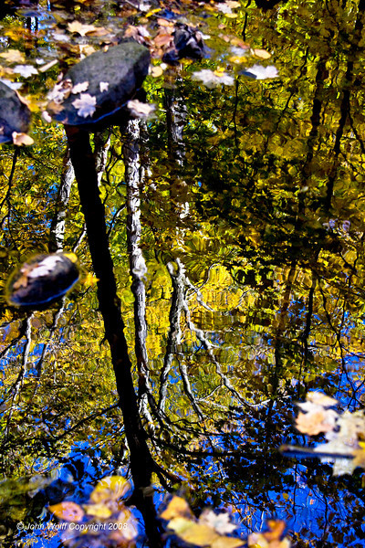 Fall reflections at TeaTown Lake