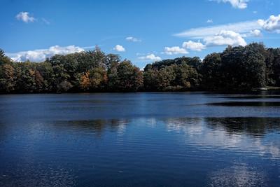 Autumn at Wood Pond Lake