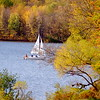 sailboat on Lake Aurther