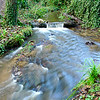 Blurred brook