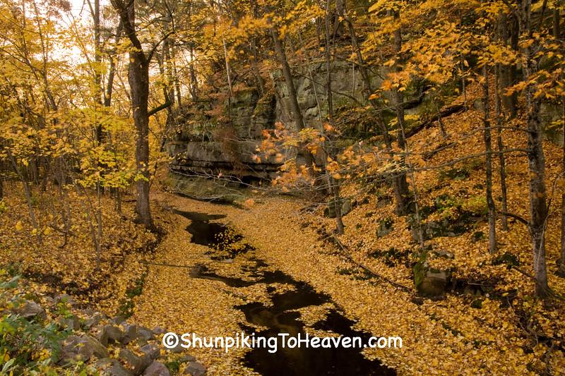 Skillet Creek in Autumn, Sauk County, Wisconsin